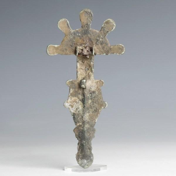 Large Visigothic Bronze Brooch