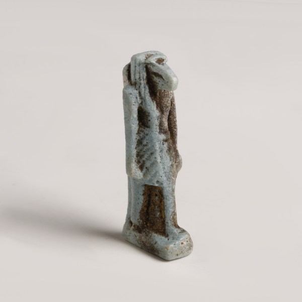 Egyptian Faience Amulet of Thoth