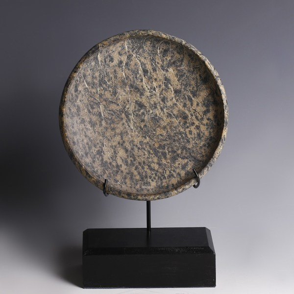 Ancient Egyptian Diorite Shallow Dish