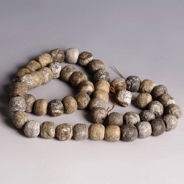Mammoth Bone Bead Necklace