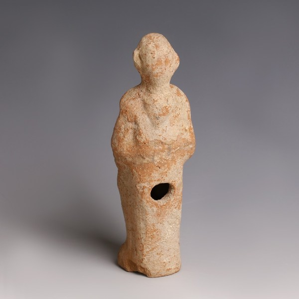 Roman Terracotta 'Plastic' Lamp of a Monkey