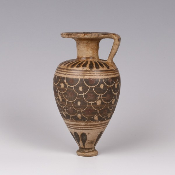 Corinthian Aryballos with Scales