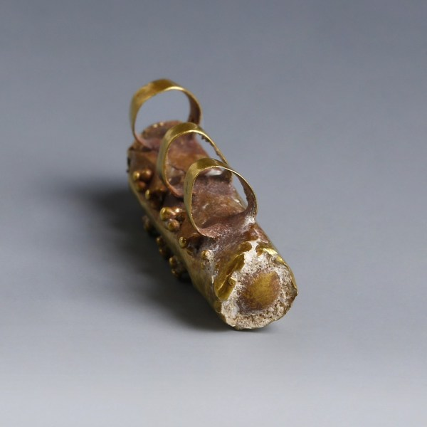 Byzantine Gold Reliquary Holder