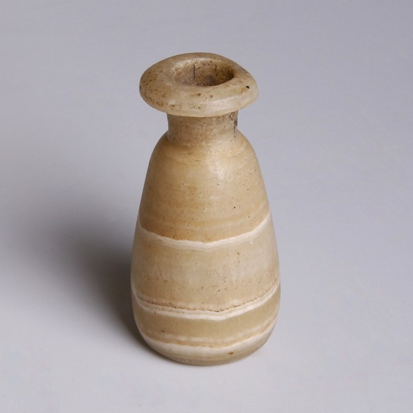 Egyptian Conical Alabaster Jar