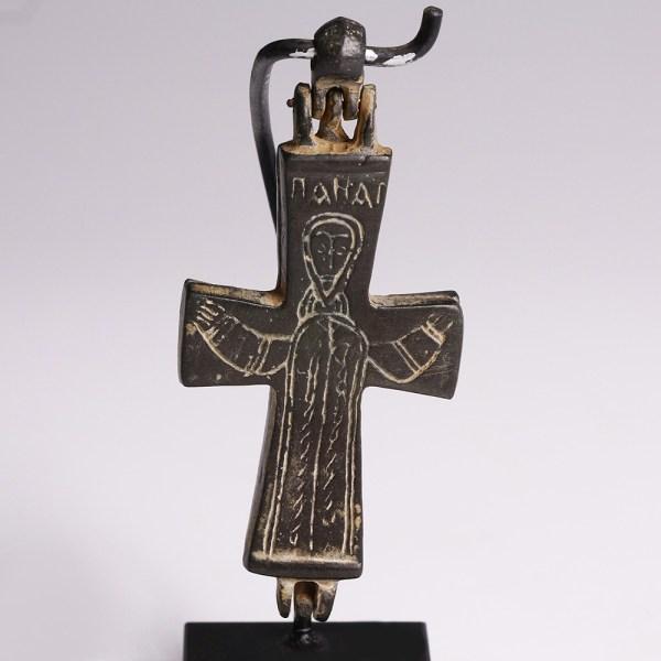 Large Byzantine Enkolpion with Mary