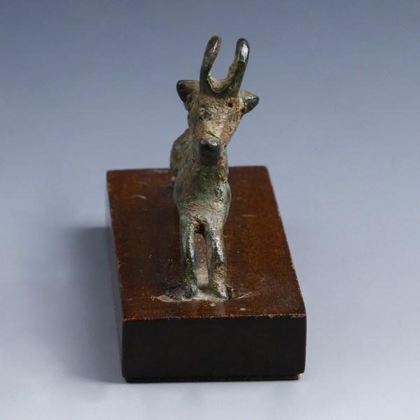 Luristan Bronze Ibex Figurine