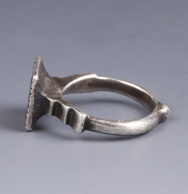 Late Mediaeval Silver Gilt Seal Ring