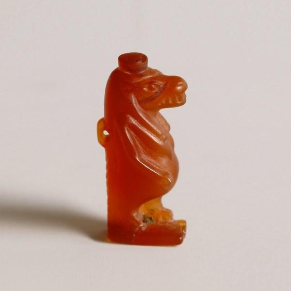 Egyptian Carnelian Amulet of Taweret