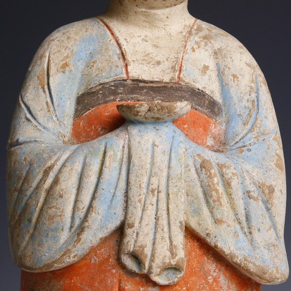 Terracotta Court Lady from the Tang Dynasty