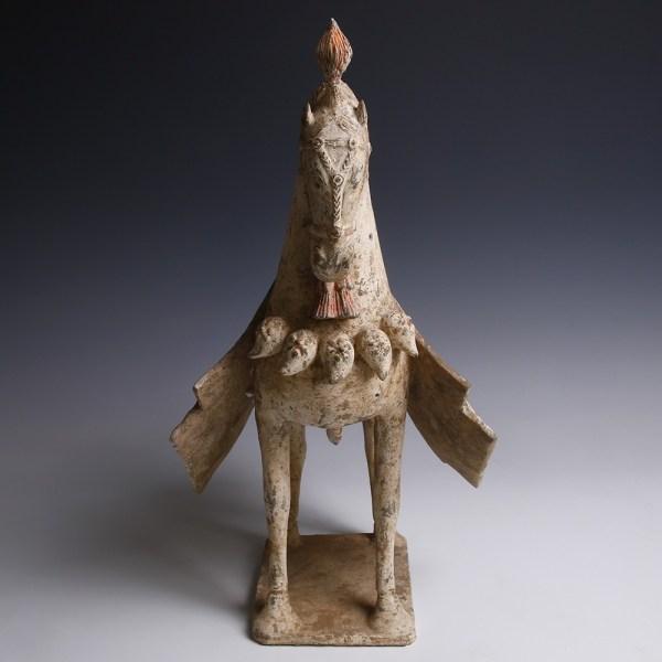 Elaborate Terracotta Northern Wei Horse