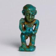 Egyptian Faience Pataikos Amulet