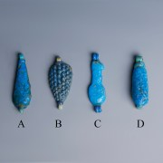 Egyptian Blue Faience Amulets