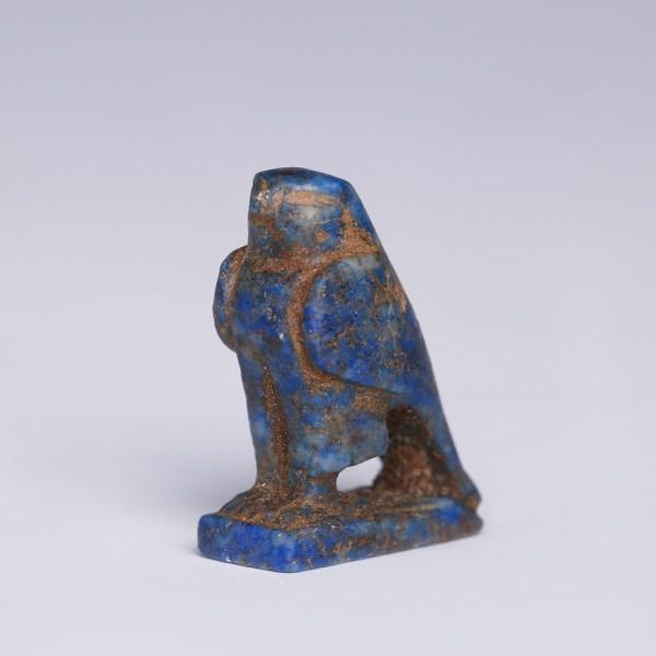 Egyptian Lapis Lazuli Horus Amulet