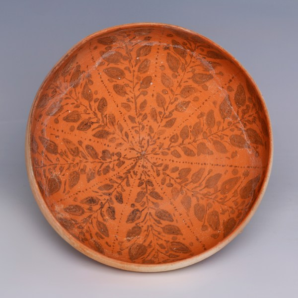 Nabatean Decorated Egg-Shell Bowl