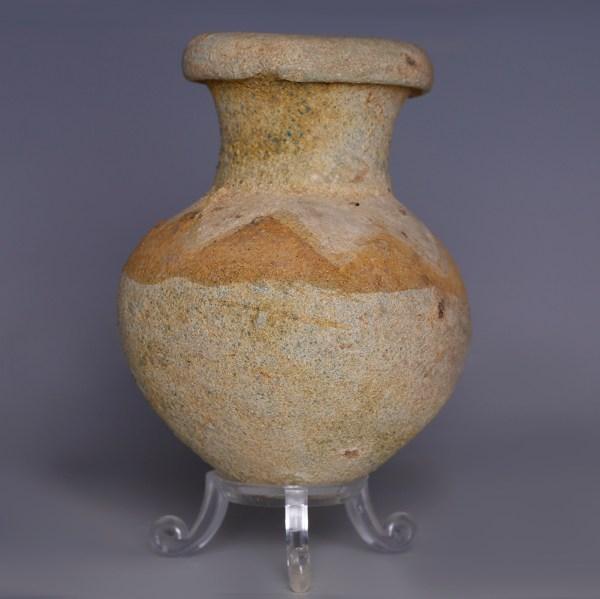 Amlash Pale Clay Storage Jar