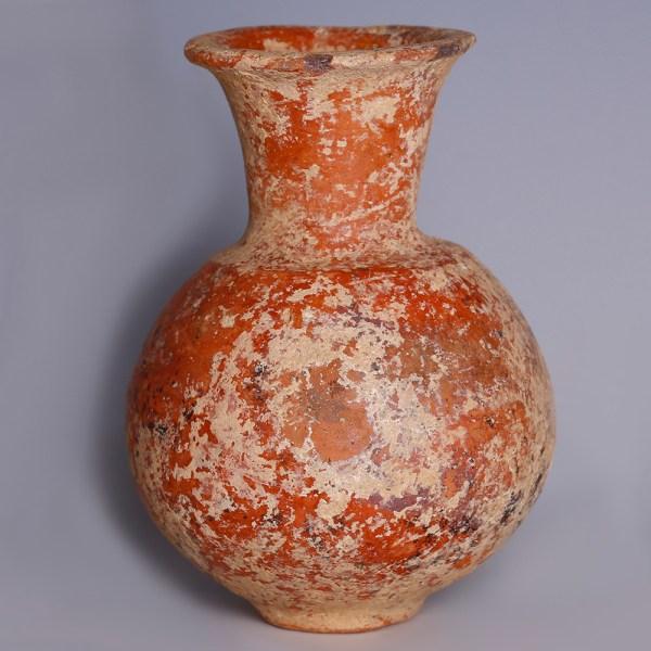 Amlash Red Terracotta Vessel