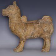 Han Dynasty Mingqi Dog Statuette