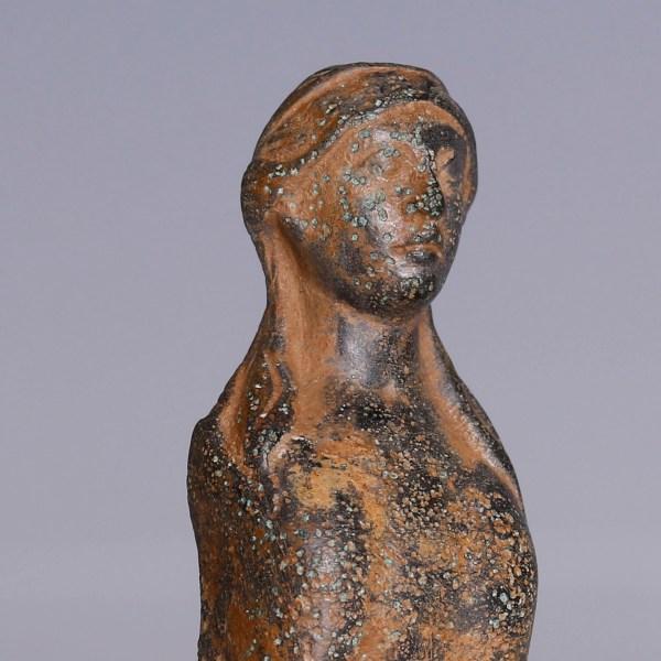 Roman Bronze Sphinx Applique