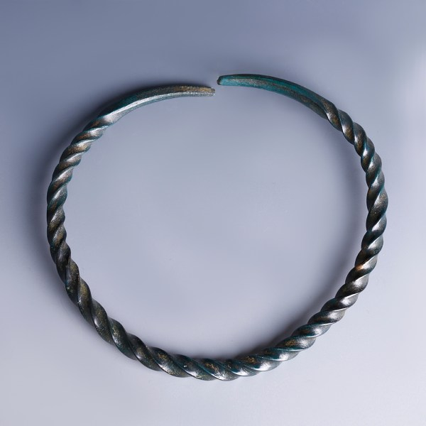 Exquisite Bronze Age Spiral Bangle