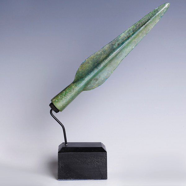 European Bronze Age Bronze Spear Head