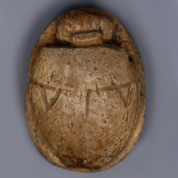 Egyptian Steatite Scarab Dedicated to Ramesses II