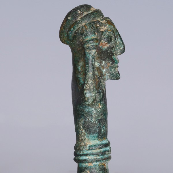 Ancient Luristan Worshipper Figurine