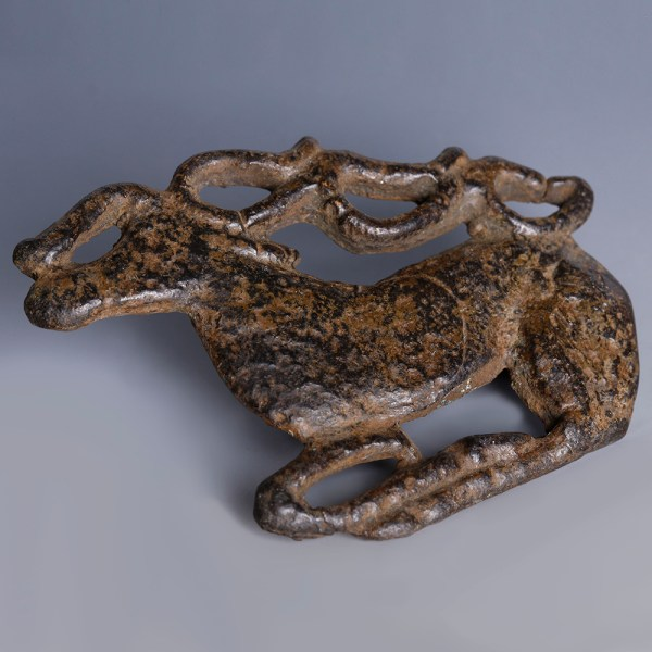Ordos Civilisation Belt Plaque in the Shape of a Stag