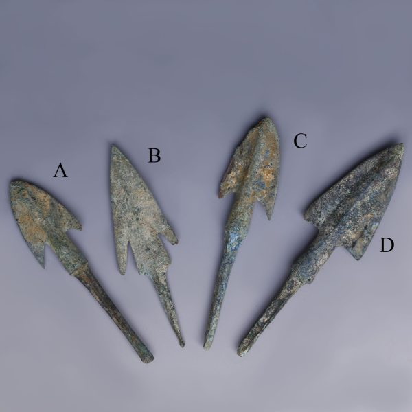 Selection of Anatolian Arrowheads