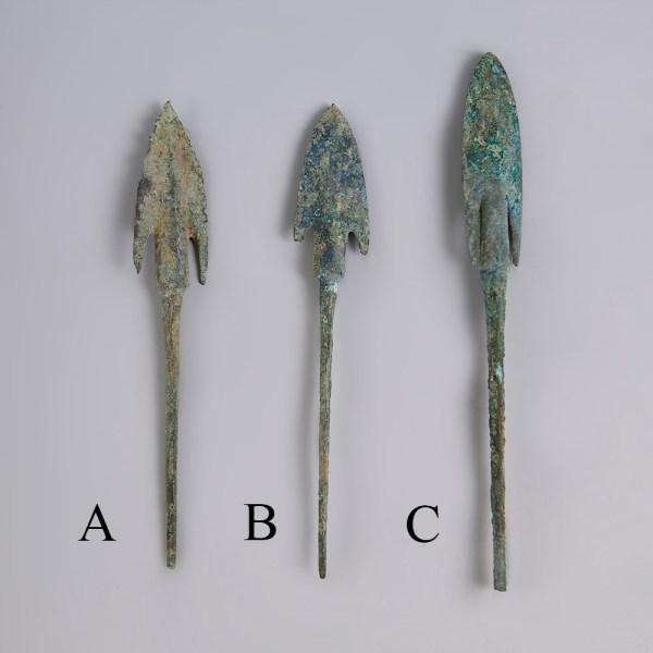 Selection of Anatolian Arrowheads
