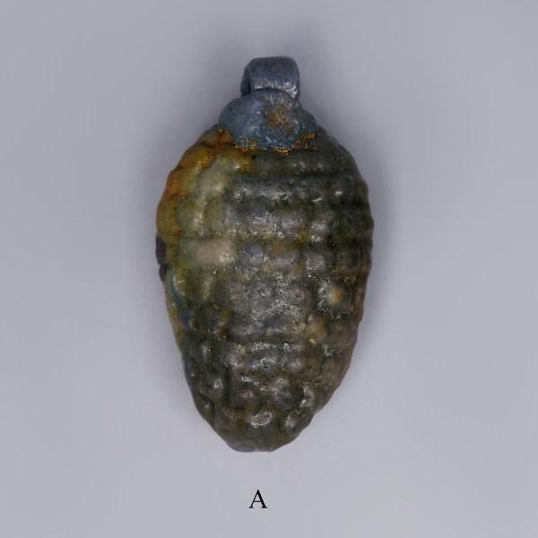 egyptian faience grape amulets a