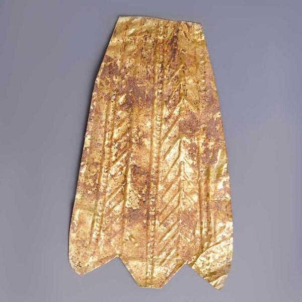 Hellenistic Gold Fine Repousse Leaf