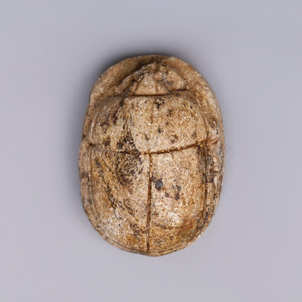 Egyptian Steatite Scarab Amulet Dedicated to Hapy