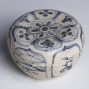 Hoi An Blue and White Floral Decorated Box