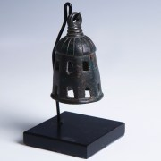 Roman Bronze Bell with Dark Patina
