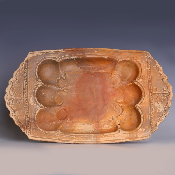 Ancient Roman Terracotta Shellfish Lanx Platter
