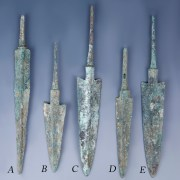 Selection of Bronze Luristan Arrowheads