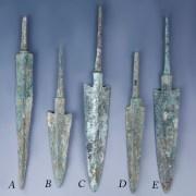 Selection of Bronze Luristan Arrowheads