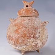 Middle to Late Bronze Age Cypriot Terracotta Juglet