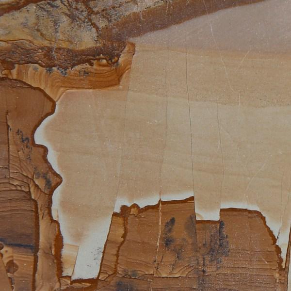 Landscape Stone Slab Mounted on Slate