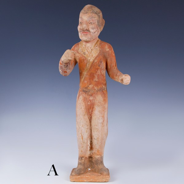 tang dynasty court figures