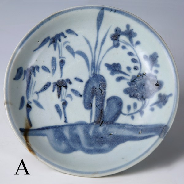 tek sing blue and white floral dishes a