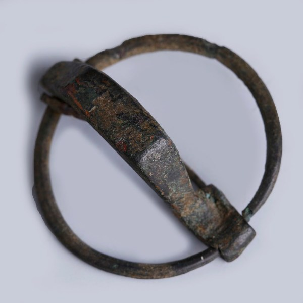 Celtiberian Bronze Annular Brooch