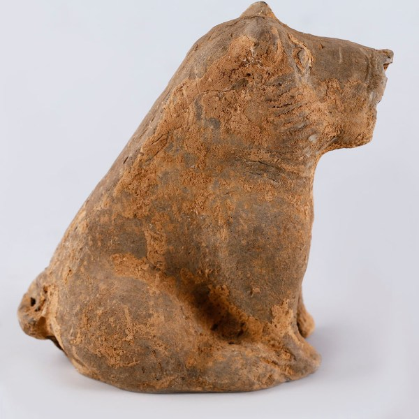 Han Dynasty Dog Terracotta Figurine