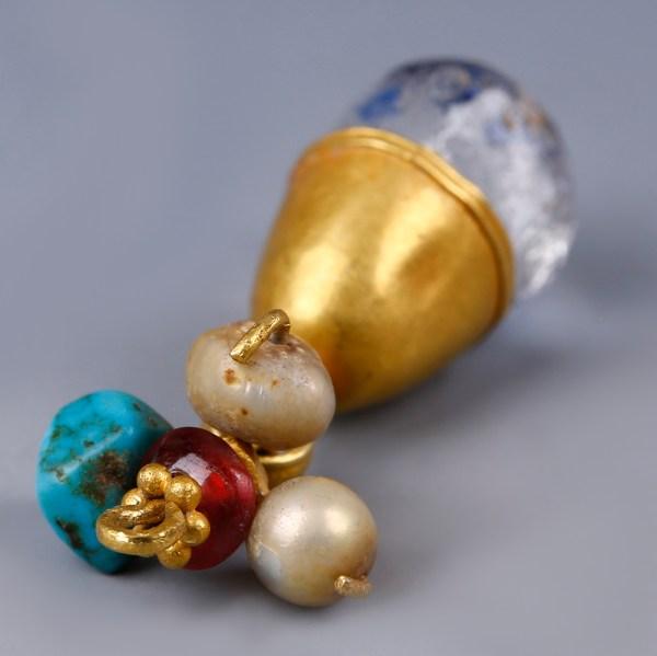 Western Asiatic Gold Pendant