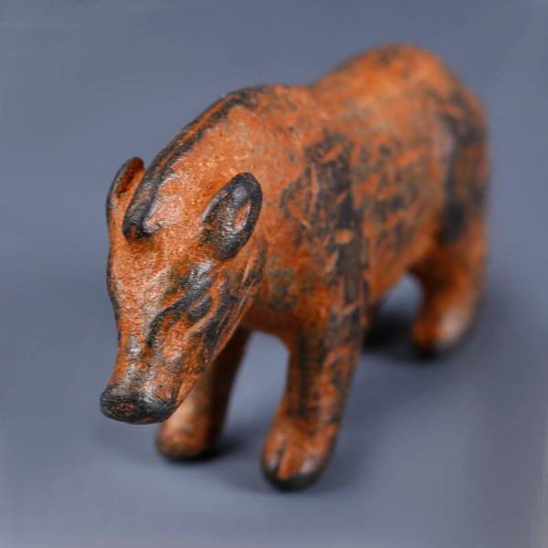 Roman Legionary Votive Statuette of a Wild Boar