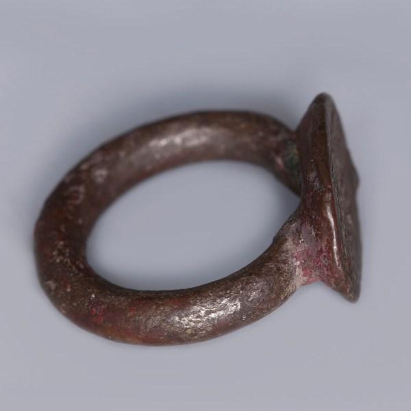 Achaemenid Silver Signet Ring