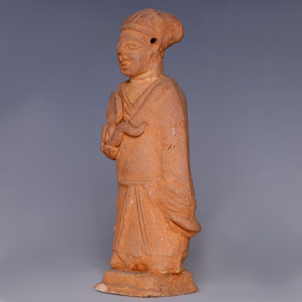 Chinese Han Dynasty Figurine of a Foreign Groom