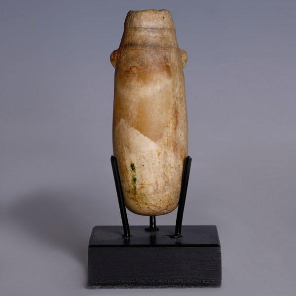 Egyptian Alabaster Perfume Bottle
