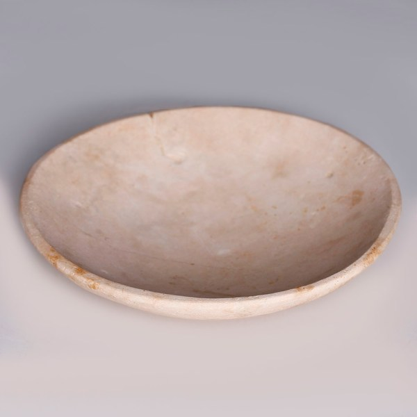 Egyptian Alabaster Shallow Dish