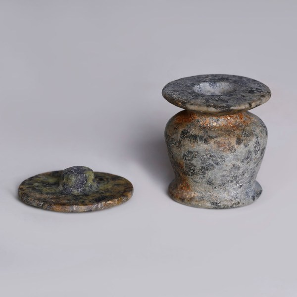 Egyptian Granite Kohl Jar